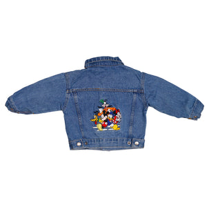 Vintage Mickey & Friends Denim Jacket size XS