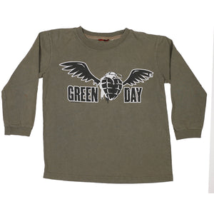 Green Day American Idiot Long Sleeve size M 7/8