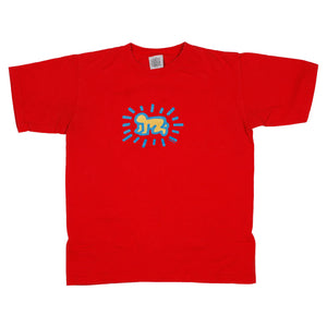"Vintage Keith Haring Pop Shop ""Radiant Baby/Barking Dog"" Tee Size L"