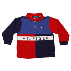 Tommy Hilfiger Color block polo size 2T