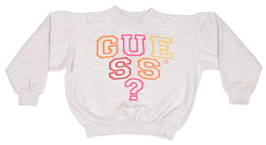90's Guess ? Spell Out Sweatshirt size Youth L