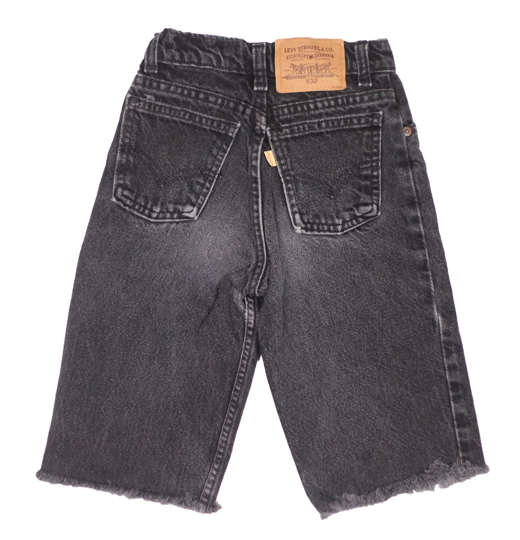 90's black wash Levis Size 8