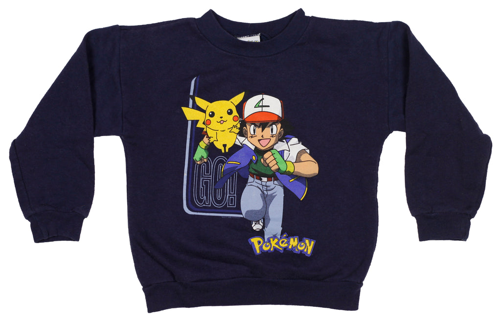 90's Pokemon crew neck sweatshirt size 5/6