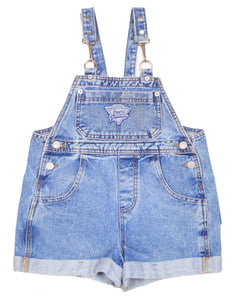 90's Guess Overall Shorts size 8