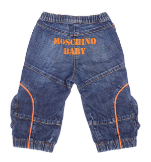 Vintage Moschino baby Jeans  size 12m