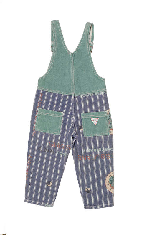 Vintage Guess Nature Watch Overalls size 3y