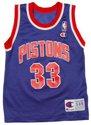 90's Grant Hill  Detroit Pistons Champion  Jersey size S (6-8)