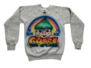 90's Trolls Airbrush Sweater size 10/12