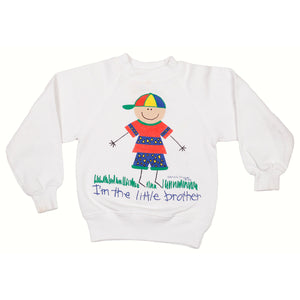 90's I'm the little brother Crewneck size 3/4