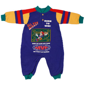 VTG  Baby Mickey Born to win Onepiece size 12m