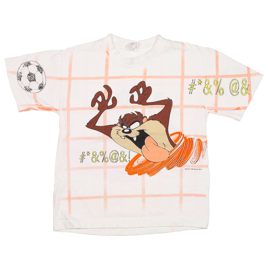 90's Taz all over print tee size 10/12
