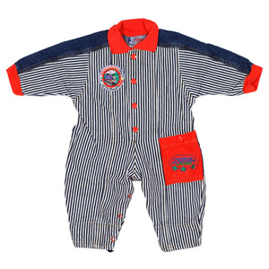 Thomas the Tank Engine Striped Jumper. Size 12m.