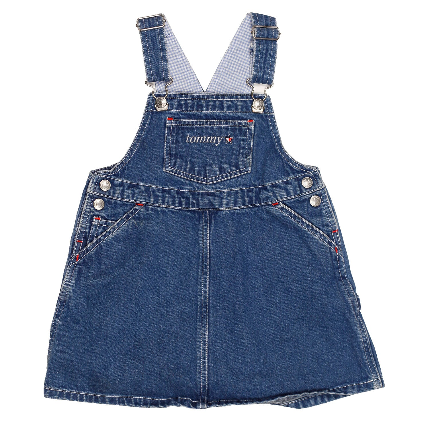 Tommy Hilfiger Denim Overall Dress size size 4T