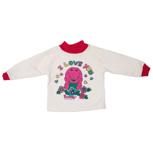 '92 Barney I Love You Crewneck size 3T