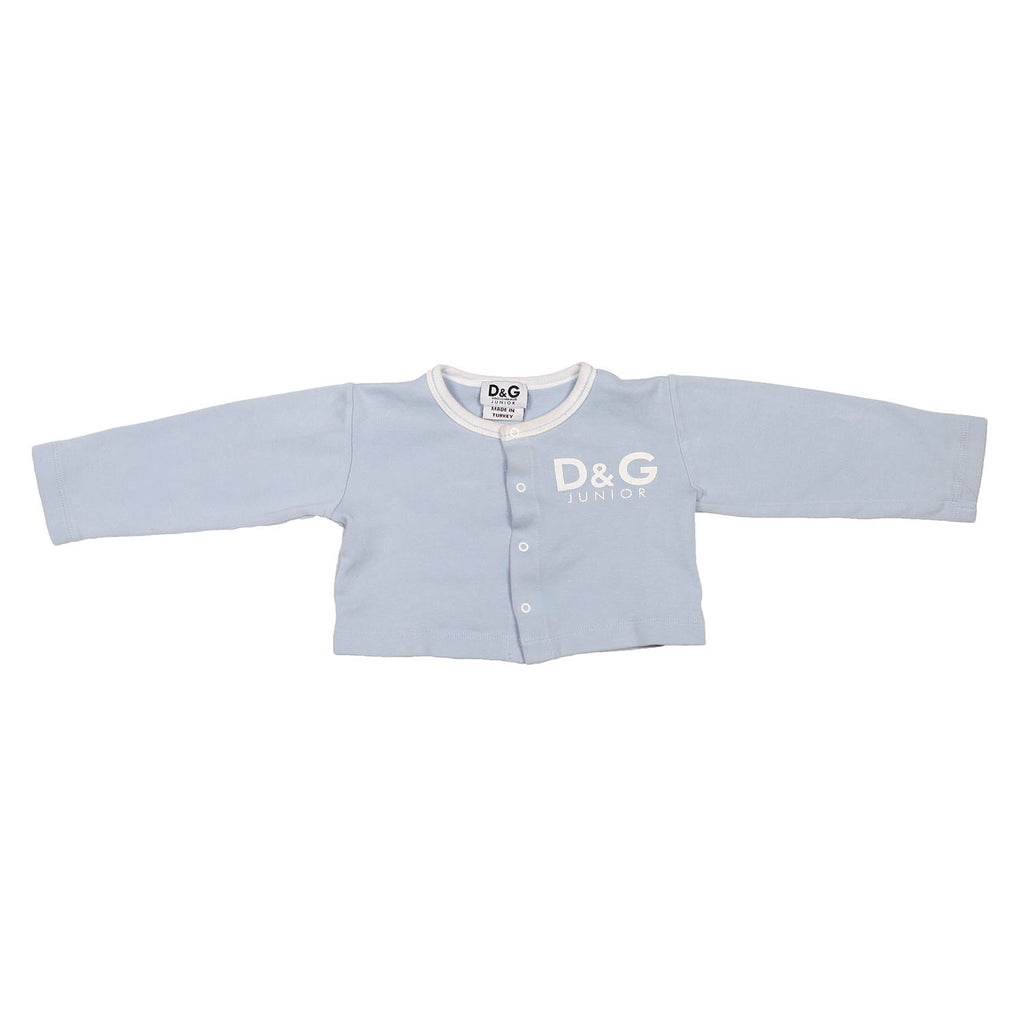 D & G Junior cropped cardigan size 12/18m