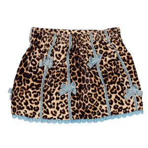 Leopard skirt with bows size 18m