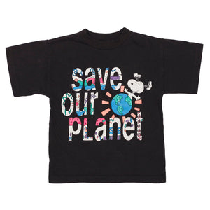 Save our Planet Snoopy tee size 4