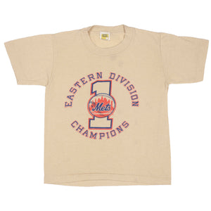Vintage New York Mets Eastern Division Champions T-shirt size S (6-8)