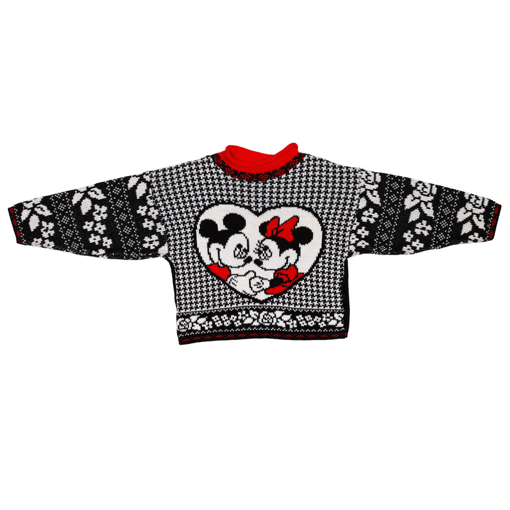 Mickey and Minnie Sweater size 3/4