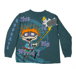 90's  Rugrats Chuckie Long sleeve size Large