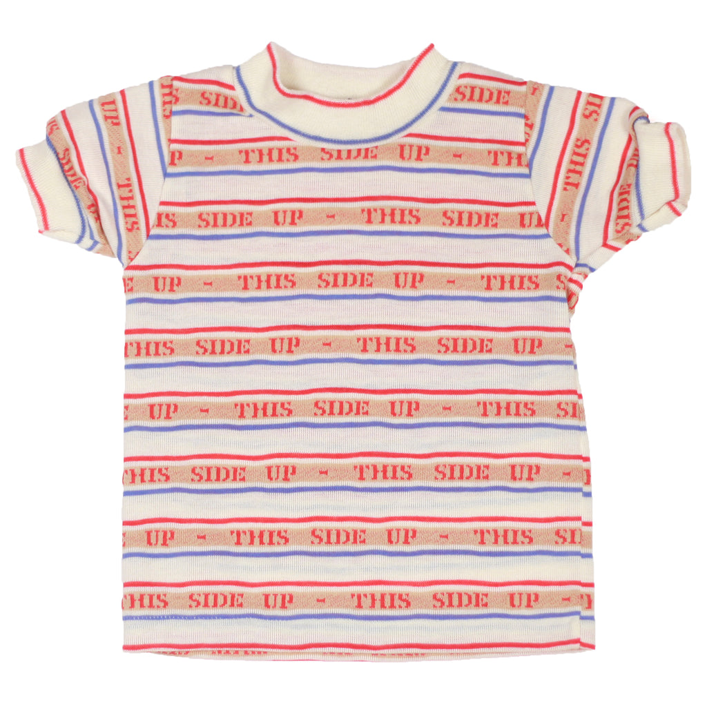 """This side up "" T-shirt size 18 months"