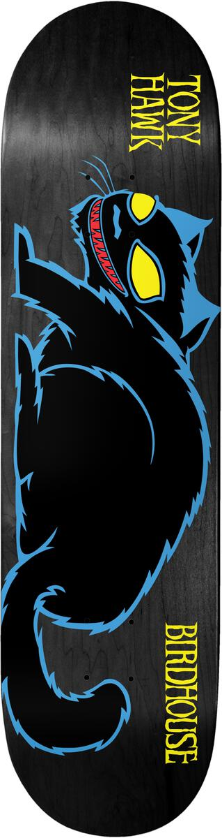 Birdhouse Hawk Evil Cat Deck 8.25