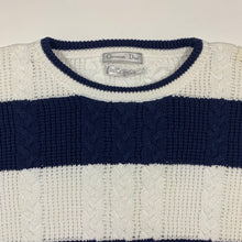 Load image into Gallery viewer, Christian Dior Bold Striped Knit Sweater
