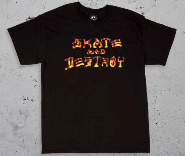 Skate and Destroy BBQ T-Shirt
