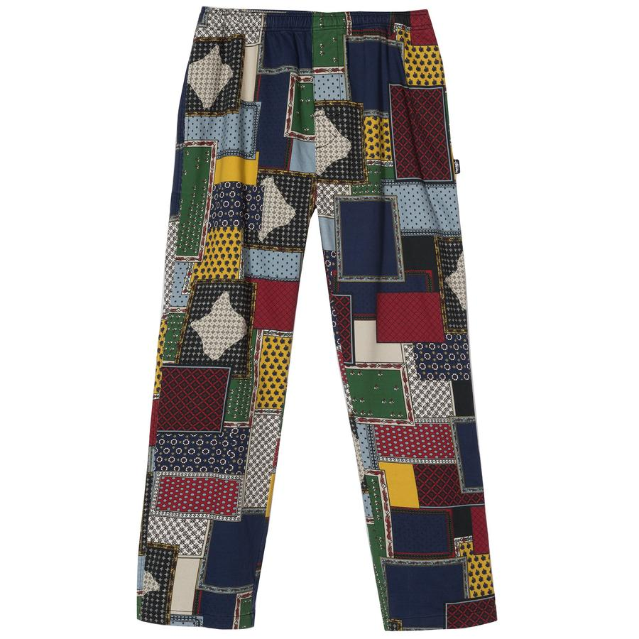 Patchwork Cord Beach Pant