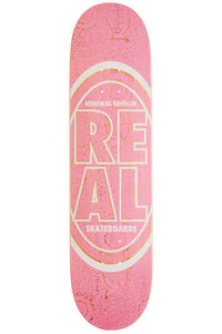 Real Floral Oval Stacked Deck 8.06