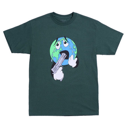 World T-Shirt Forest Green