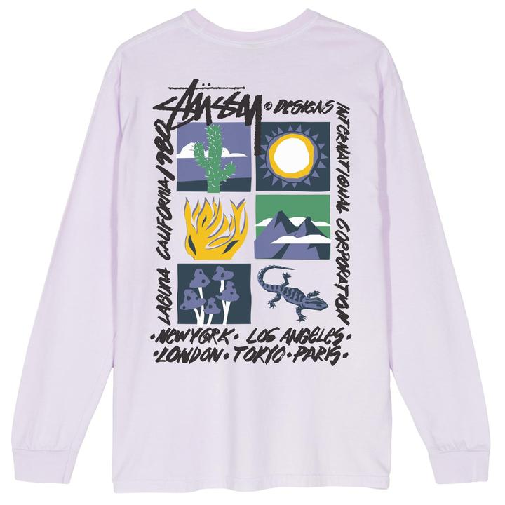 Stussy High Desert LS T-Shirt