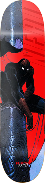 PRIMITIVE NEAL SPIDERMAN DECK 8.62