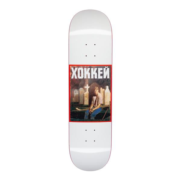 Hockey Nik Stain Deck White 8.25