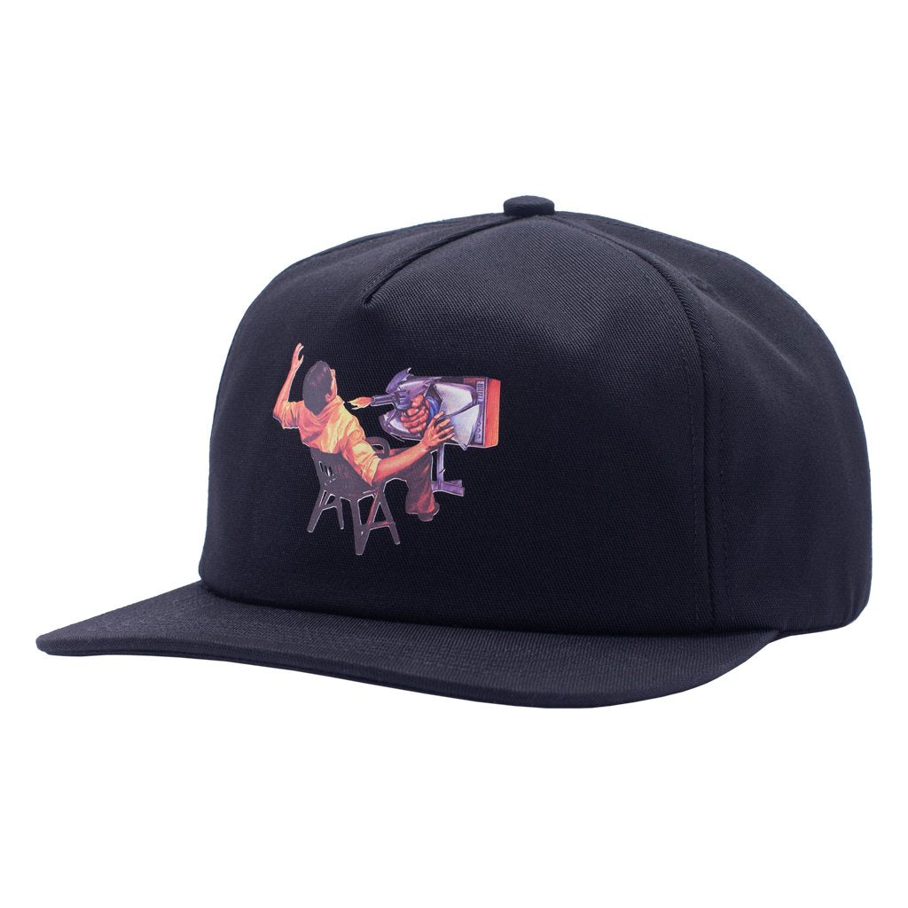 Ultraviolence 5 Panel Hat Black