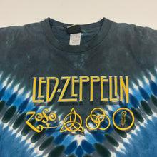 Load image into Gallery viewer, Led Zeppelin Zoso Symbols Reissued Tie-Dye T-Shirt