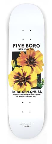 5Boro Yellow Flower Seed Deck 8.25
