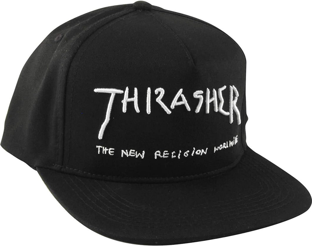 Thrasher New Religion Hat Black