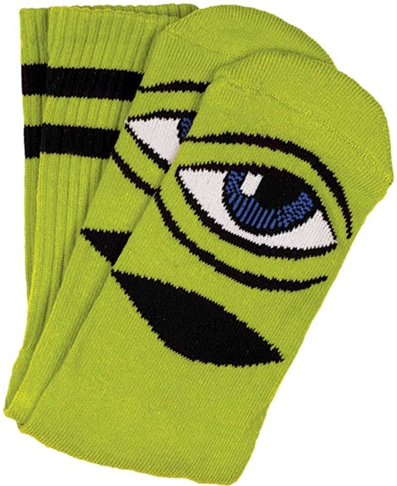 Toy Machine Eye III Sock Green