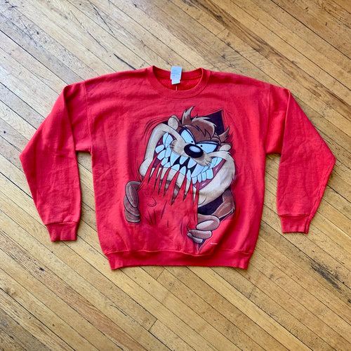 TAZ Big Bite Double Sided Crewneck