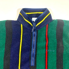 Load image into Gallery viewer, IZOD Striped 1/2 Fleece Pullover