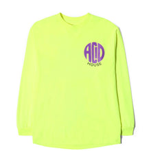 Load image into Gallery viewer, Acid House LS T-Shirt / Neon Yellow