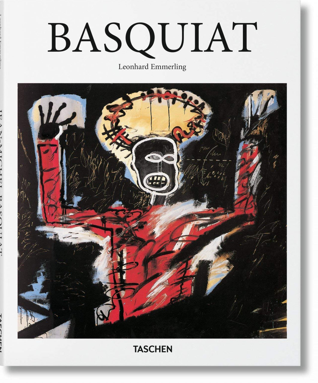 Basquiat by Leonhard Emmerling Hardcover Book