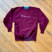 Load image into Gallery viewer, Champion Reverse Weave Made In USA Embroidered Crewneck