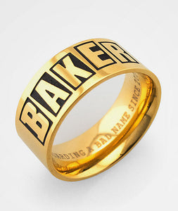 Baker Gold Ring MD