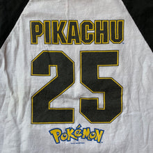 Load image into Gallery viewer, Pokemon 1999 Pikachu Baseball T-Shirt