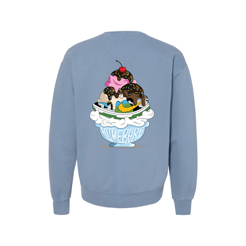 Chunky Dunky Sundae Crewneck Sweatshirt (Read full description please)