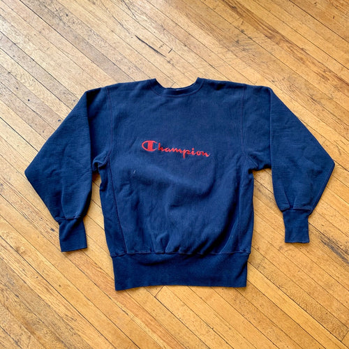 Champion Reverse Weave Made In USA Embroidered Crewneck