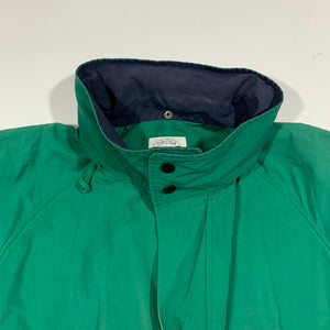 Nautica Competiton Solid Washed Sailing Jacket