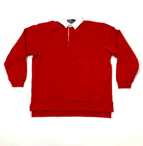 Polo RL NWT Heritage Heavy Solid Rugby